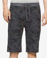 Calvin Klein Jeans Men's Logo Waistband Camo-Print Shorts