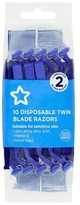 Superdrug Men s Twin Blade Disposable Razors 10 Pack