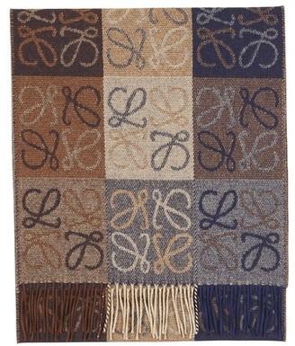 Loewe Anagram scarf C.O