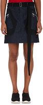 Tim Coppens Women's Appliquéd Denim A-Line Miniskirt
