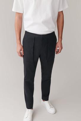 Cos Cotton Cargo Pants