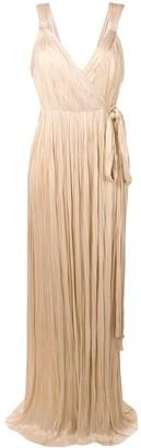 Maria Lucia Hohan Amena plisse gown
