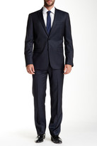 John Varvatos Star USA By Trim Fit Two Button Notch Lapel Wool Suit