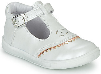 GBB AGENOR girls's Shoes (Pumps / Ballerinas) in White