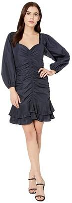 Parker Theia Dress (Midnight) Women's Dress
