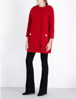 Burberry Anstead cocoon wool-blend coat