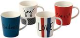 Royal Doulton Ellen DeGeneres Joy Mugs - Set of 4