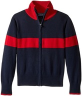 Toobydoo Avalanche Zip-Up Sweater (Toddler/Little Kids/Big Kids)