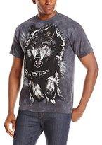 The Mountain Men's Breakthrough Wolf Short Sleeve T-Shirt