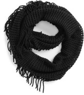 BP Junior Women's Fringe Trim Infinity Scarf