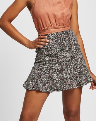 All About Eve Women's Black Mini skirts - Bronte Flippy Skirt - Size One Size, 6 at The Iconic