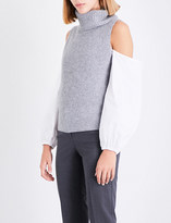Theory Turtleneck cashmere top