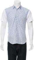 Comme des Garcons Short Sleeve Button-Up Shirt
