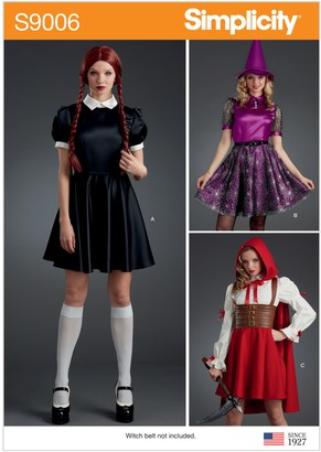 Simplicity Misses' Themed Costume, 9006