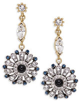 Gerard Yosca Floral Cluster Drop Earrings