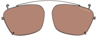Dita Gunmetal 405 Clip Sunglasses