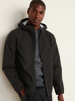 Old Navy Go-H20 Water-Resistant Hooded Rain Jacket for Men