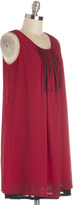 R & E Do Re Meeting Dress in Red