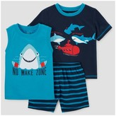 Just One You made by carter Baby Boys' 3pc Pajama Set - Just One You Made by Carter's® Blue