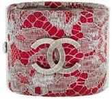 Chanel Lace CC Cuff