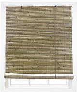 Radiance 0108106 Laguna Bamboo Shade Roll Up Blind, Natural, 60-Inch Wide by 72-Inch Long