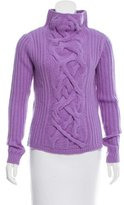 Magaschoni Cable Knit Cashmere Sweater w/ Tags