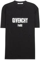 Givenchy Printed Cotton T-shirt