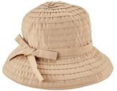 San Diego Hat Co. Ribbon Braid Bucket Hat withAdjustable Tie