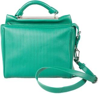 3.1 Phillip Lim Green Leather Ryder Top Handle Bag