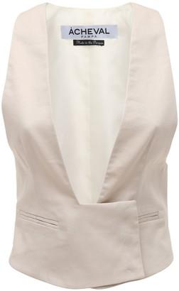 ÀCHEVAL PAMPA Gardel Cotton Satin Vest
