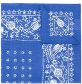 Valentino planet print foulard