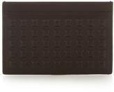 Balenciaga Grid-effect Coated-leather Cardholder
