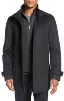 BOSS Men's 'Camlow' Wool & Cashmere Car Coat