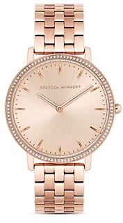 Rebecca Minkoff Major Link Bracelet Watch, 35mm