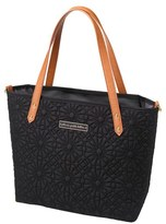 Petunia Pickle Bottom 'Downtown Mini' Floral Embossed Diaper Tote