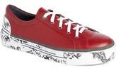 Lanvin Grafitti Print Low Top Sneaker (Men)