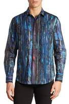 Robert Graham Kathleens Printed Cotton Shirt
