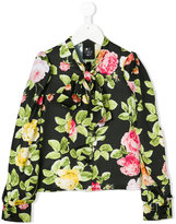 Love Made Love floral pattern shirt