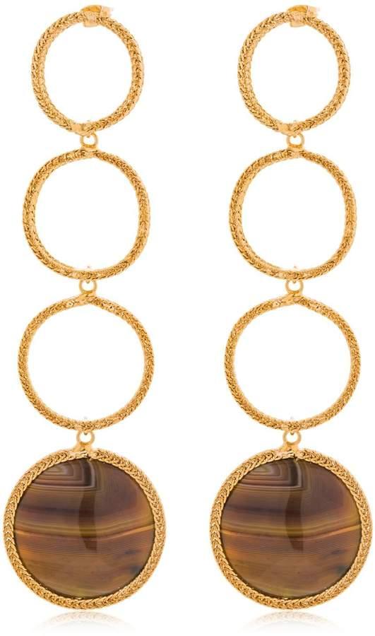 Rosantica Scarabeo Earrings