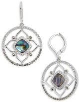 Judith Jack Women's Tropical Touches Flower Drop Earrings