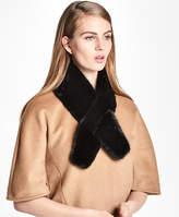Brooks Brothers Mink Fur Ascot