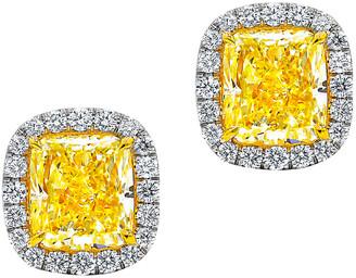 Diana M Fine Jewelry 18K 3.43 Ct. Tw. Diamond Studs