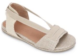 Gentle Souls by Kenneth Cole Women's Lark Elastic Flat Sandals Women's Shoes