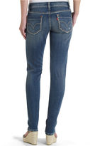 Levi's Jeans, 524 Ripped Skinny, Beloved Wash