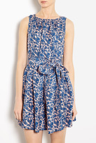 Marc by Marc Jacobs Tootsie Flower Silk Tee Dress