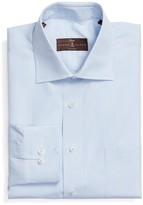 Robert Talbott Men's Tailored Fit Stripe Dress Shirt