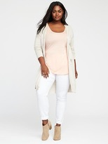 Old Navy Relaxed Plus-Size Open-Front Cardi