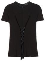 Proenza Schouler Embellished Jersey Top