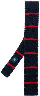 Polo Ralph Lauren Silk Knit Striped Neck Tie