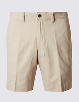 M&s Collection Tailored Fit Pure Cotton Shorts